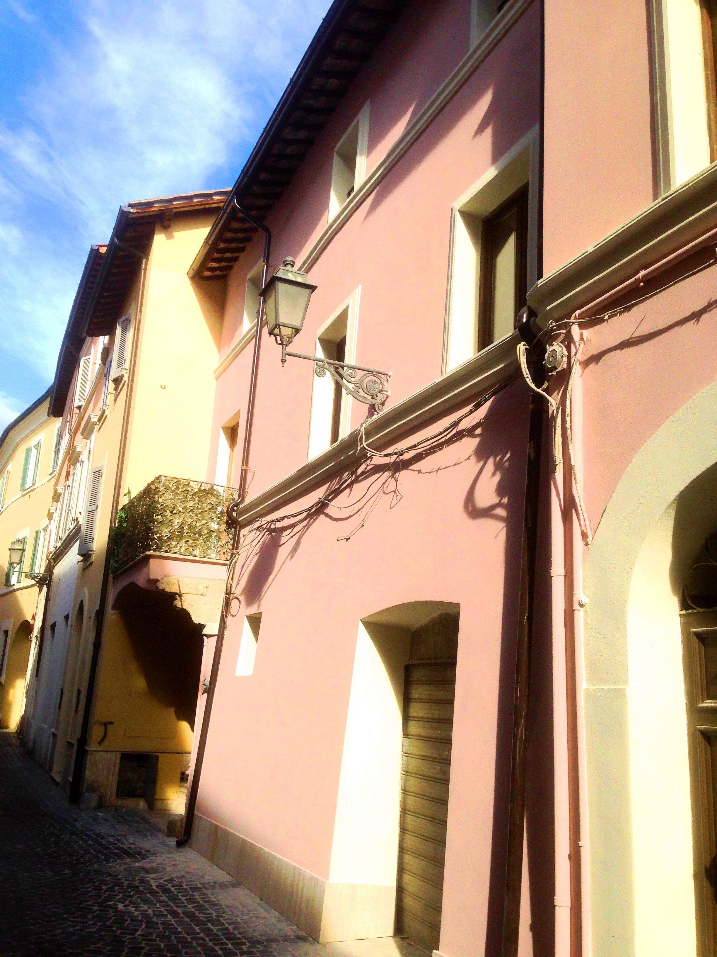 Rifacimento facciata, Zona Duomo, Terni
